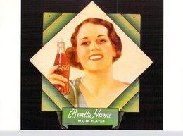 Publicité PUB -COCA-COLA BENITA HUME  (actrice)   ART Ou PUBLICITE Rétrospective 20/12/95-27/2/96 CARROUSEL Du LOUVRE - Publicité