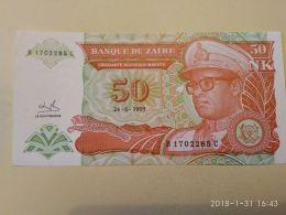 50 Makuta 1993 - Zaire