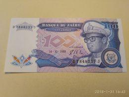 100 Zaires 1988 - Zaire