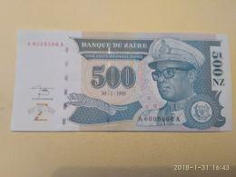 500 Zaires 1995 - Zaire