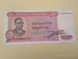 50 Makuta 1980 - Zaire