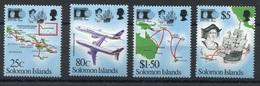 RC 6919 ILES SALOMON 748 / 751 - DECOUVERTE DE L'AMERIQUE COLOMB NEUF ** TB - Solomon Islands (1978-...)