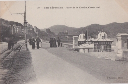 Bm - Cpa San Sébastian - Paseo De La Concha, Caseta Real - Guipúzcoa (San Sebastián)
