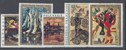 POLYNESIE - 1972 - P. Aérienne N° 65/69 - Neufs Sans Charnière - XX - MNH - TB - Cote 122 € - Polynésie Française