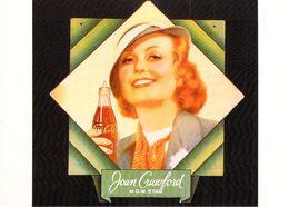 Publicité PUB-COCA-COLA JOAN CRAWFORD  (actrice)- ART Ou PUBLICITE Rétrospective 20/12/95-27/2/96 CARROUSEL Du LOUVRE - Publicité