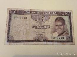 1 Kwacha 1968 - Zambie
