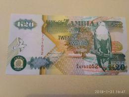 20 Kwacha 1992 - Zambie