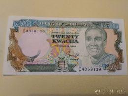 20 Kwacha 1989-91 - Zambia