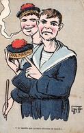 Illustration Comique - Sous Marins - Sous Marinier Marine Française Sailors - Par Griff - Griff