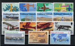 RC 6927 FALKLAND - SERIES AVIATION AVIONS AEROPORT NEUF ** TB - Falkland Islands