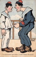 Illustration Comique - Sous Marins - Quartier Maitre Caporal - Sous Marinier Marine Française - Par Griff - Griff