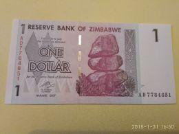 1 Dollar 2007 - Zimbabwe
