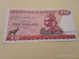 10 Dollars  1983 - Zimbabwe