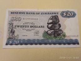 20 Dollars  1994 - Zimbabwe