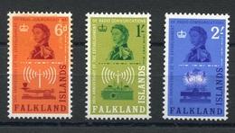 RC 6930 FALKLAND 137 / 139 - RADIO COMMUNICATION SERIE COMPLETE NEUF ** TB - Falkland Islands