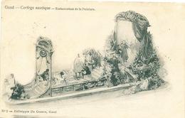 019/30  GAND  - Carte  Illustrée  Cortège Nautique - Embarcation De La Peinture. No 2 - Gent