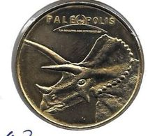 MEDAILLE TOURISTIQUE MONNAIE DE PARIS ALLIER Paleopolis 2012 - Monnaie De Paris