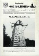 Thema: Molen/moulin - Tijdschrift ONS MOLENHEEM September 1983. Ravels, Elverdinge, Doel, Hoegaarden Enz. - Tijdschriften