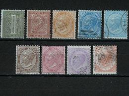 ITALIE - 1863/1877 N° 12/13 * + 15/21 O (voir Scan) - 1861-78 Victor Emmanuel II.