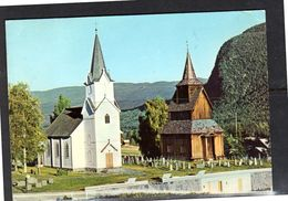 Curacao 1973 Old Stave  Church Hallingdal Cancel GOL  (k23-8) - Norwegen