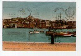 CPA. MARSEILLE.  N D DE LA GARDE VUE DU VIEUX PORT..ANNEES ...1910 - Non Classificati