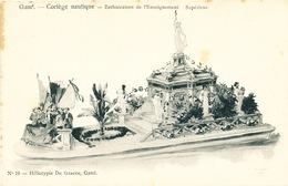 024/30  GAND  - Carte  Illustrée  Cortège Nautique - Embarcation De L'Enseignement Supérieur. No 19 - Gent