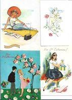 Lot De 36 Cp De Sainte Catherine Differents Modeles Voir Scan Pour Exemple - 5 - 99 Karten