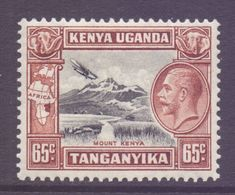 KUT Scott 53 - SG117, 1935 George V 65c MNH** - Kenya, Oeganda & Tanganyika