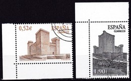 2004, Spanien, 3974/75, Burgen,  Used First Day Oo - 1931-Today: 2nd Rep - ... Juan Carlos I