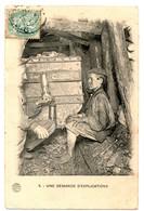 (59) Enfant à La Mine. Une Demande D'explication - France