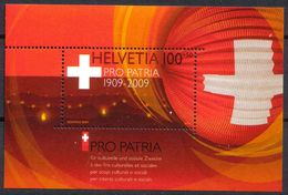 2009 Zu B 308 / Mi Bl 44 PRO PATRIA BF ** / MNH - Blocs & Feuillets