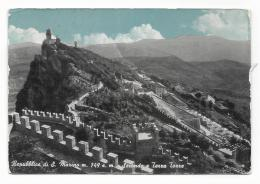 REPUBBLICA DI S.MARINO - SECONDA E TERZA TORRE VIAGGIATA FG - San Marino