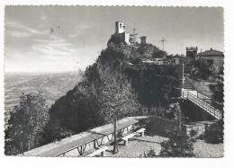 REPUBBLICA DI S.MARINO + FRANCOBOLLI  VIAGGIATA FG - San Marino