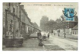 ALLIER 03 DOMPIERRE SUR BESBRE Rue Et Place Du Champ De Foire Beau Plan Magasin - France