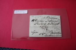 Lettre 1791 MILAN  Italie Pour Lyon France - Italie