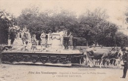 33 /- BORDEAUX . FÊTE DES VENDANGES . CHAR DE BACCHUS - Cuers