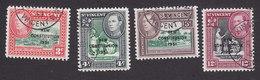 St Vincent, Scott #176-179, Used, Scenes Of St Vincent Overprinted, Issued 1951 - St.Vincent (...-1979)