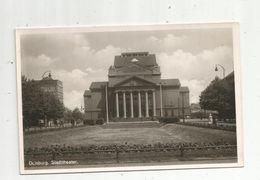 Cp, Allemagne, DUISBURG , Stadttheater , écrite 1950 ,  Ed. Gerngross ,nr 1206 - Duisburg