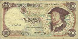 500 ESCUDOS OURO - D. JOÃO II - CHAPA 10 - 1966 - GCF 00044 - CIRCULATED - SEE PHOTOS - Portugal