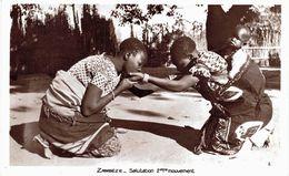 Carte Postale Ancienne De ZAMBEZE - Zambia