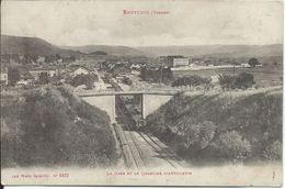 Bruyeres  La Gare Et Le Quartier D' Artillerie - Bruyeres
