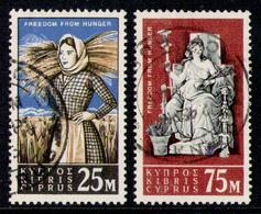 CYPRUS 1963 - Set Used - Cyprus (Republic)