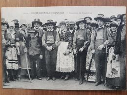 Saint Guenole Penmarch.concours De Costumes.coiffes.édition Villard 7039 - Penmarch