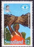 SWAZILAND 1995 SG 653 2e Used FAO - Swaziland (1968-...)