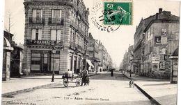 AGEN BOULEVARD CARNOT (PHARMACIE DE LA GARE) - Agen