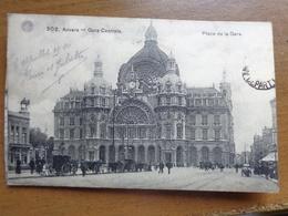 Antwerpen, Centraal Station (met Paarden En Koetsen) --> Beschreven - Antwerpen