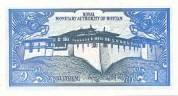 H32 - BOUTHAN - BILLET DE 1 NGULTRUM - Bhutan