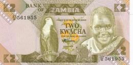 H32 - ZAMBIE - Billet De 2 KWACHA - Zambia