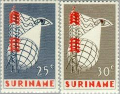 Suriname 1966 Eerste Televisieuitzending Suriname - NVPH 460 MNH** Postfris - Suriname ... - 1975