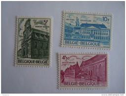 België Belgique 1975 Bouwkundig Erfgoed Année Européenne Du Patrimoine Architectural Yv 1760-1762 COB 1769-1771 MNH ** - België